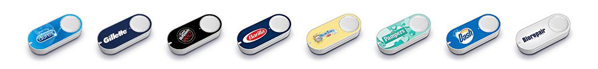 Amazon Dash Button: alcuni esempi di pulsante disponibili in italia