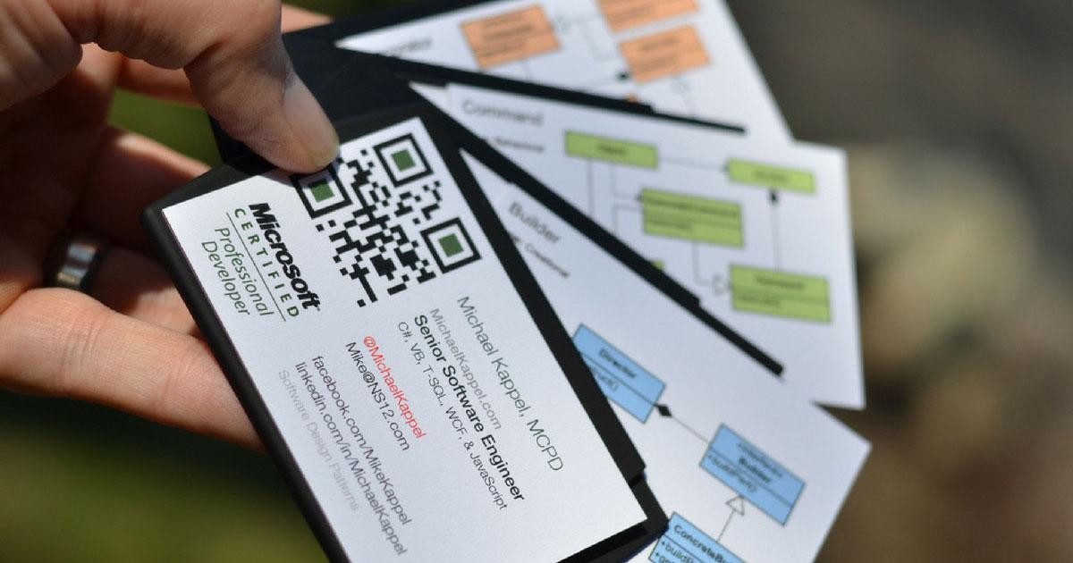 Biglietti da Visita con QR-Code
