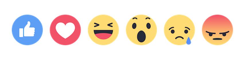 dirette facebook live reaction
